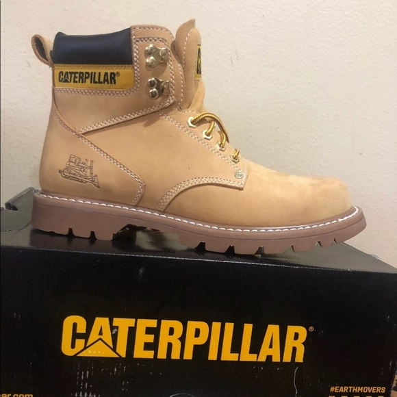 560561542d8 Caterpillar second shift steel toe honey NWT
